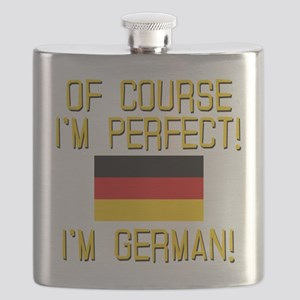 I'm Perfect I'm German Flask