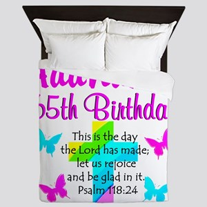 CHRISTIAN 65TH Queen Duvet