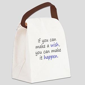 Make It Happen Canvas Lunch Bag