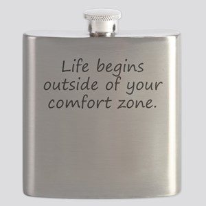 Outside Of Your Comfort Zone Flask