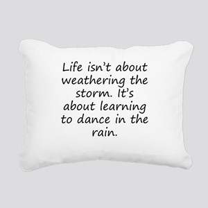 Learning To Dance In The Rain Rectangular Canvas P