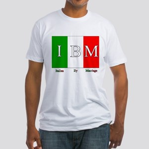 Italian By Marriage Fitted T-Shirt