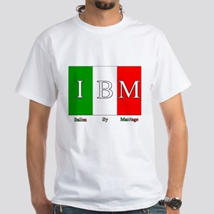 Italian By Marriage White T-Shirt