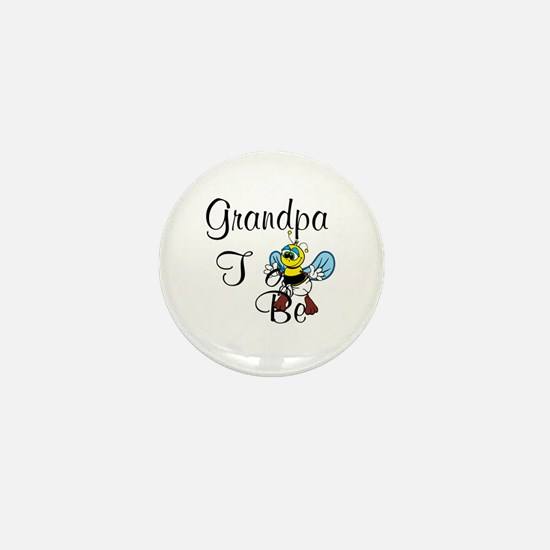 Playful Grandma To Bee Mini Button
