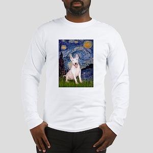 Starry/Bull Terrier (#4) Long Sleeve T-Shirt