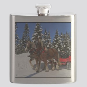 Sleigh ride Flask