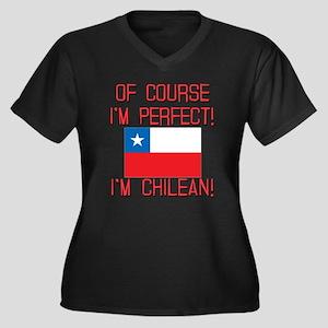 Of Course Im Women's Plus Size V-Neck Dark T-Shirt