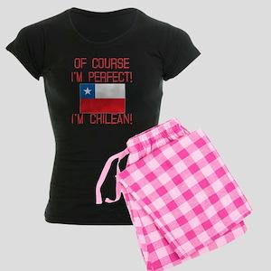 Of Course Im Perfect Im Chil Women's Dark Pajamas