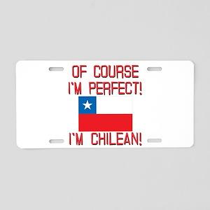 Of Course Im Perfect Im Chi Aluminum License Plate