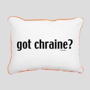 Got Chraine Rectangular Canvas Pillow