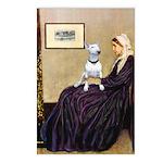 Mom's Bull Terrier (#1) Postcards (Package of 8)