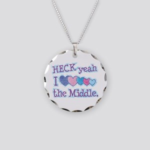 The Middle TV Show Necklace Circle Charm