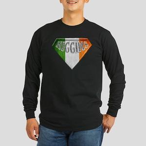 Higgins Irish Superhero Long Sleeve Dark T-Shirt
