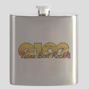 Q102 Texas Best Rock! 2014 Flask