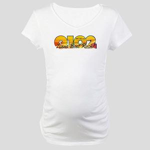 Q102 Texas Best Rock! 2014 Maternity T-Shirt