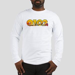 Q102 Texas Best Rock! 2014 Long Sleeve T-Shirt