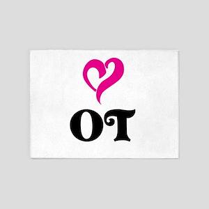 OT LOVE 5'x7'Area Rug