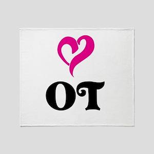 OT LOVE Throw Blanket