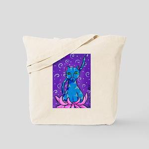 Buddha Kitty Tote Bag
