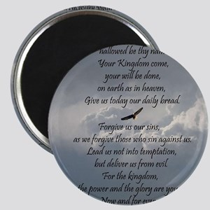 The Lords Prayer with Eagle Magnet