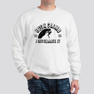 Personalized Rock Climb Sweatshirt