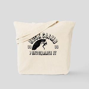 Personalized Rock Climb - Female Tote Bag