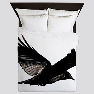 Bird Flying Bedspread Queen Duvet