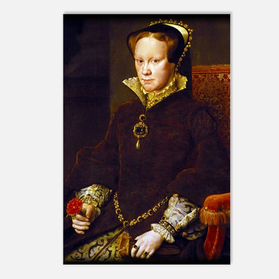 Queen Mary I. Postcards (Package of 8)