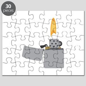 Cigarette Lighter Flame Puzzle