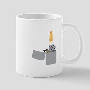 Cigarette Lighter Flame Mugs