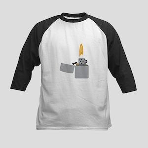 Cigarette Lighter Flame Baseball Jersey