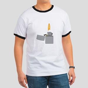 Cigarette Lighter Flame T-Shirt