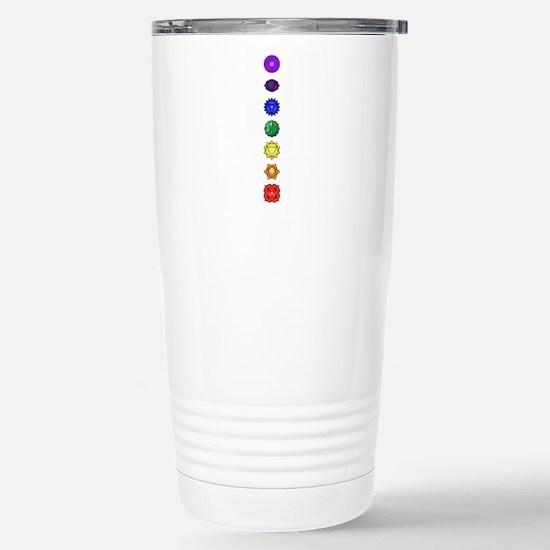 Chakras-7-vert Travel Mug