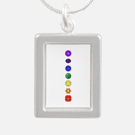 Chakras-7-Vert Necklaces
