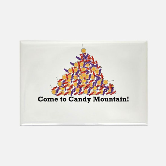 Candy Mountain Rectangle Magnet