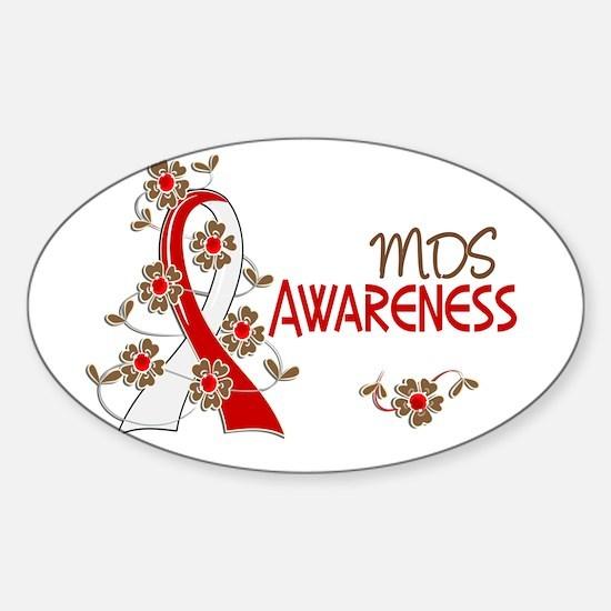 MDS Awareness 6 Sticker (Oval)