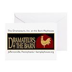 Dramateurs Greeting Cards (Pk of 10)