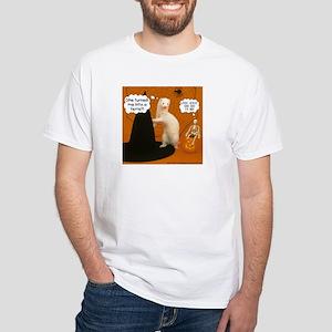 She Turned Me... - White T-shirt