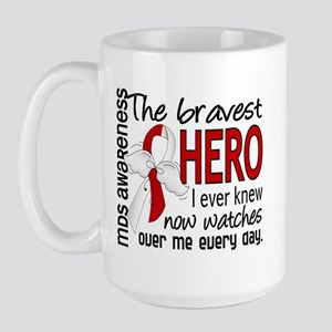 MDS Bravest Hero Large Mug
