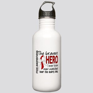 MDS Bravest Hero Stainless Water Bottle 1.0L