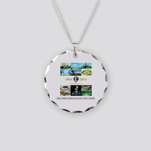 50th Anniversary Pavilions Necklace Circle Charm