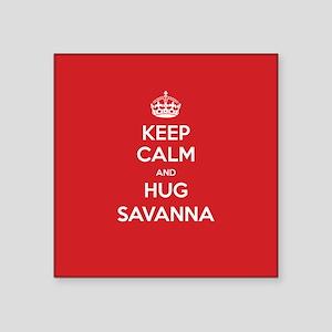 Hug Savanna Sticker