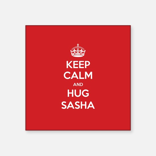 Hug Sasha Sticker