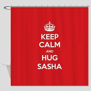 Hug Sasha Shower Curtain