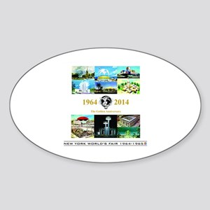 50th Anniversary Pavilions Sticker