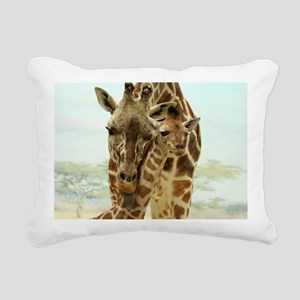 MOTHER LOVE Rectangular Canvas Pillow