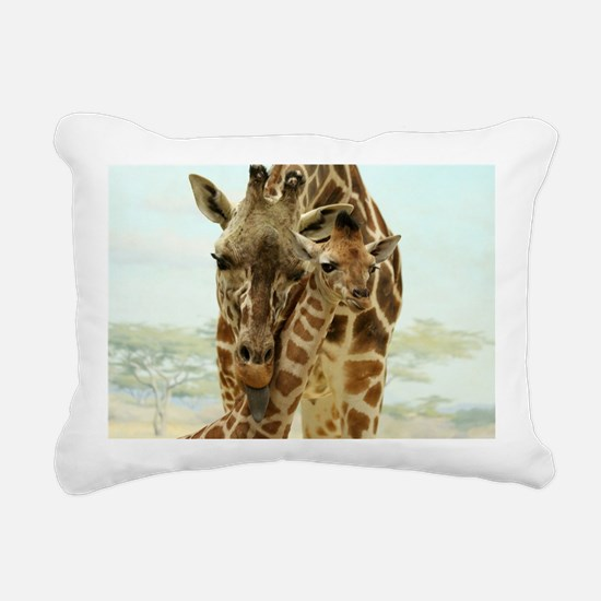 MOTHER LOVE Rectangular Canvas Pillow