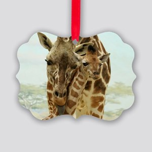 MOTHER LOVE Picture Ornament