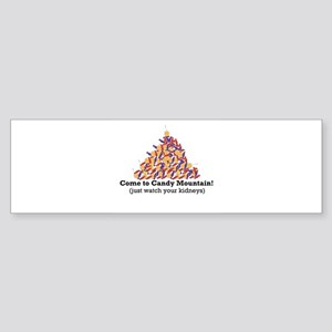 Candy Mountain Bumper Sticker