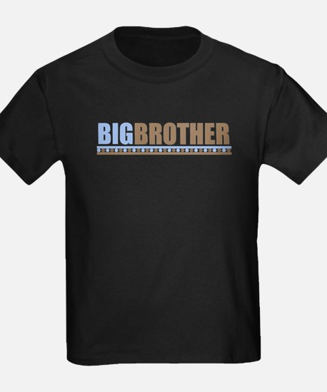 big brother brown/blue T